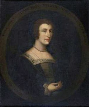 Lady Janet Stewart - Portrait of the Lady Fleming, née Janet Stewart, by George Jamesone
