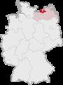 Lage des Landkreises Bad Doberan in Deutschland.png
