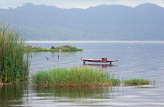 Geography of Ghana - Lake Bosumtwi
