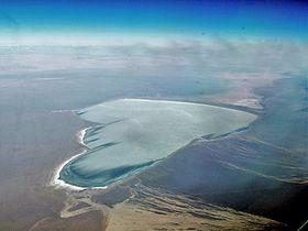 Озеро в январе 2006