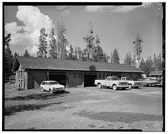 Lake Fish Hatchery Historic District - Image: Lake Fish Hatchery Historic Building 02
