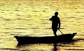 Lake Malawi fisherman sunrise.jpg