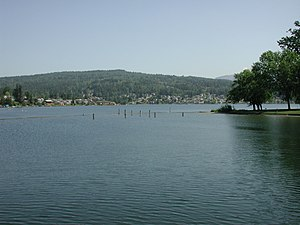 Lake Whatcom - Image: Lake Whatcom Basin 1