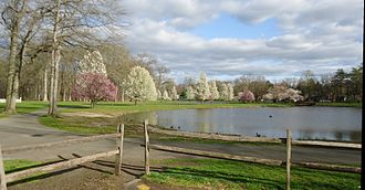 Union County, New Jersey - Nomahegan Pond near Union County College Cranford NJ