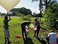 Lançamento do Balão Estratosférico do Projeto Estrato no antigo Thermas de Pitangueiras. A sonda foi batizada de Estratolab 3 subiu 28 km até a estratosfera, registrando a temperatura mínima de - panoramio (1).jpg