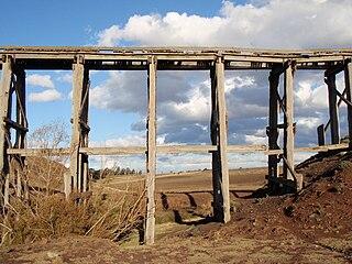 Lancefield railway line