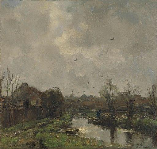 Landschap in de omgeving van Den Haag Rijksmuseum SK-A-2468