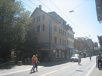 Langstrasse - Langstrasse and the same named Longstreet Bar