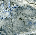 Lapis Eyes Limestone (Rio Tascadero Limestone, Lower Cretaceous; Flor de los Andes Mine, Andes Mountains, Chile) (14802928794).jpg