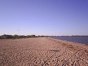 Pelotas - The Laranjal on the coast of the Lagoa dos Patos