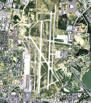 Laredo International Airport - USGS aerial image, 2006