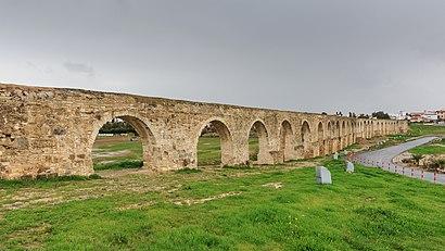 Πώς να πάτε στο προορισμό Kamares  Aqueduct με δημόσια συγκοινωνία - Σχετικά με το μέρος