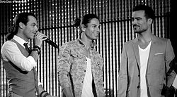 Latin Lovers M6 Live 2014.JPG