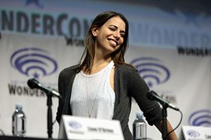 Laura Bailey (voice actress) - Bailey at the 2017 WonderCon in Anaheim, California.