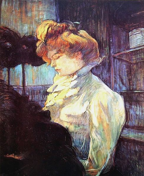 489px-Lautrec_the_modiste_1900