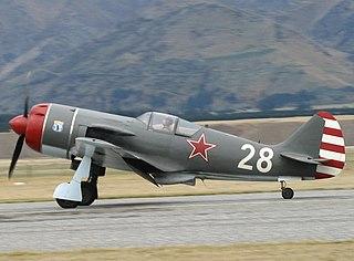 Lavochkin La-9 Soviet fighter aircraft in service 1946-1959