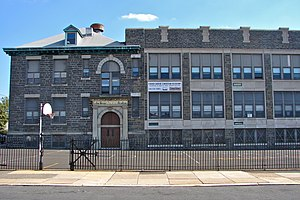 Lawndale, Philadelphia - Lawndale School, October 2010