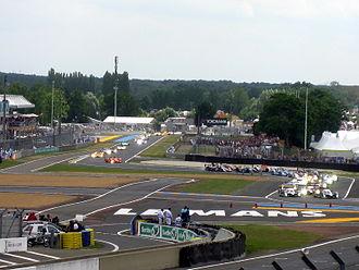 Endurance racing (motorsport) - Rolling start of the 2008 Le Mans 24 Hours