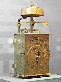 Le Musée Paul Dupuy - Horloge japonaise à double foliot (Wadokei) - Période Edo.jpg