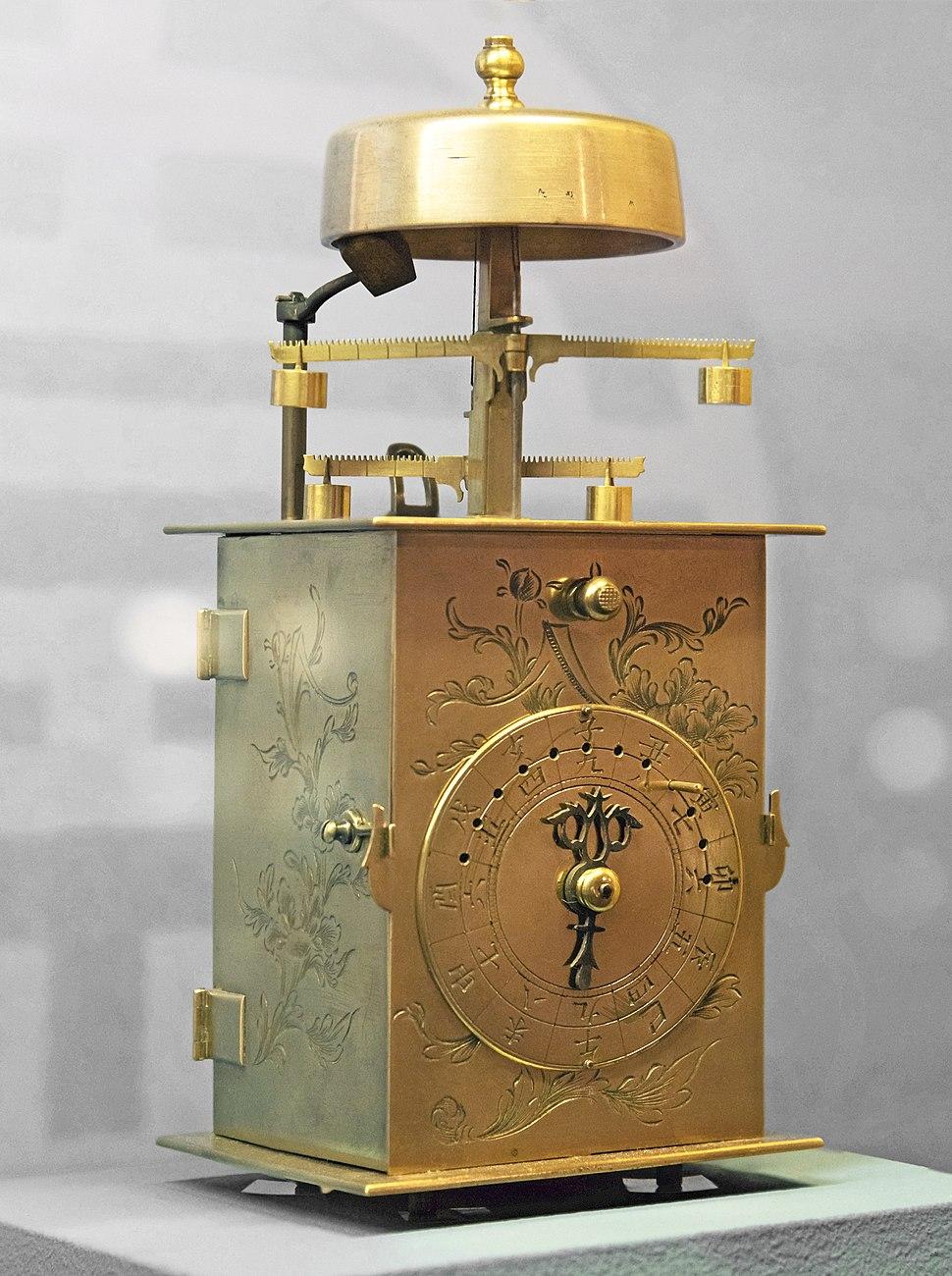 Le Musée Paul Dupuy - Horloge japonaise à double foliot (Wadokei) - Période Edo