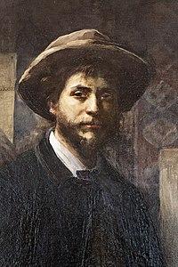 Le Petit Palais - Louise Breslau - Jean Carriès dans son atelier - 1887 - 001.jpg