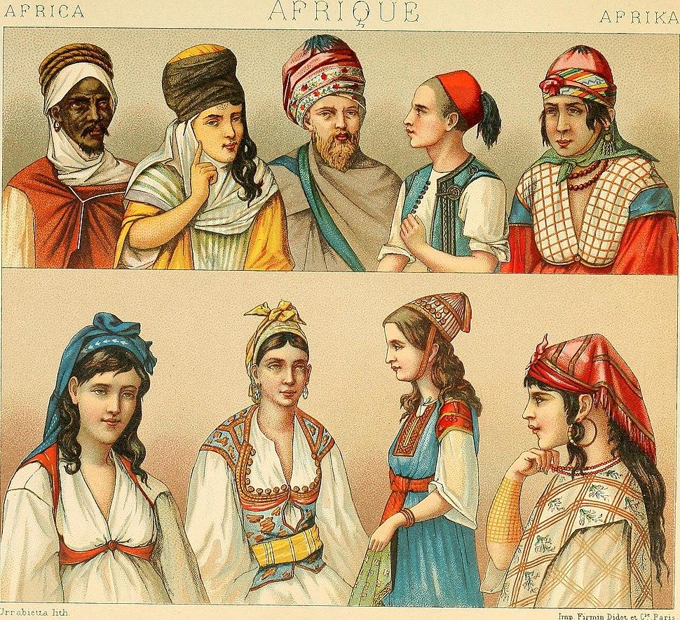 Le costume historique. Cinq cents planches, trois cents en couleurs, or et argent, deux cents en camaieu. Types principaux du vêtement et de la parure, rapprochés de ceux de l'intérieur de (14577493688)