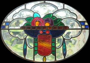 Work of art - Leadlight window from the 1920s
