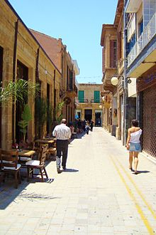 Photo of streets in Nicosia old town