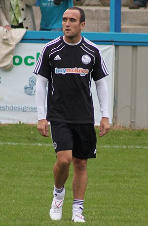 Lee Croft - Croft training with Derby County in 2011