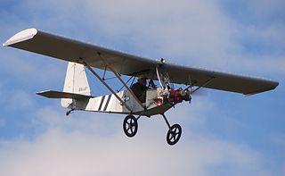 Milholland Legal Eagle American ultralight aircraft design