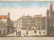 Nicolaaskerk 18e eeuw