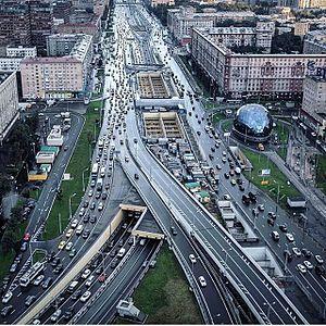 Leningradskoye Highway - Image: Leningradskoye Highway 1