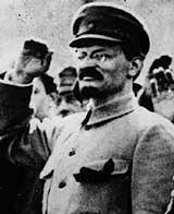 Leo Trotzki Oktober 1917