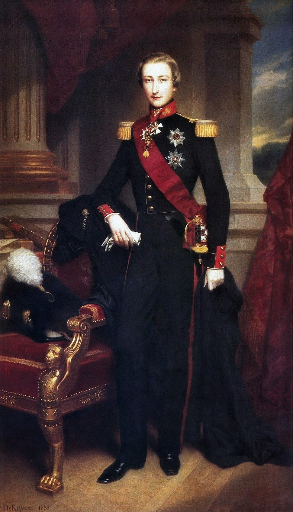 Leopold of Belgium, Duke of Brabant; Nicaise de Keyser