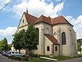 Les Sièges, église, abside.jpg