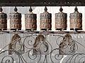 Les moulins à prières du Stupa de Swayambhunath à Katmandou (8435900738).jpg