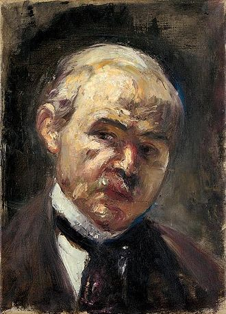 Lesser Ury - Self portrait