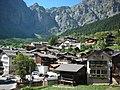 Leukerbad - Vista del villaggio.JPG