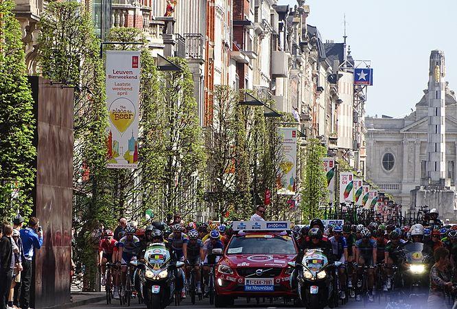 Leuven - Brabantse Pijl, 15 april 2015, vertrek (D05).JPG