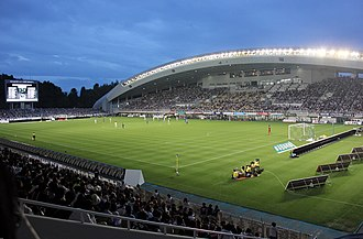 Fukuoka Prefecture - Level5 Stadium, home of Avispa Fukuoka
