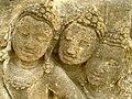 Level 1, Inner Wall Bottom - Borobudur - 047 Divyavadana, South Wall, Panel 31, Mandhatar (detail, centre left) (8598536253).jpg