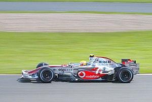 McLaren MP4-22 - Image: Lewis Hamilton 2007 Britain