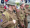 Liberation Day 1945 reenactment soldiers Jersey 9 May 2007.jpg