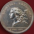 Libertas Americana Silbermedaille Paris 1783 Avers.jpg