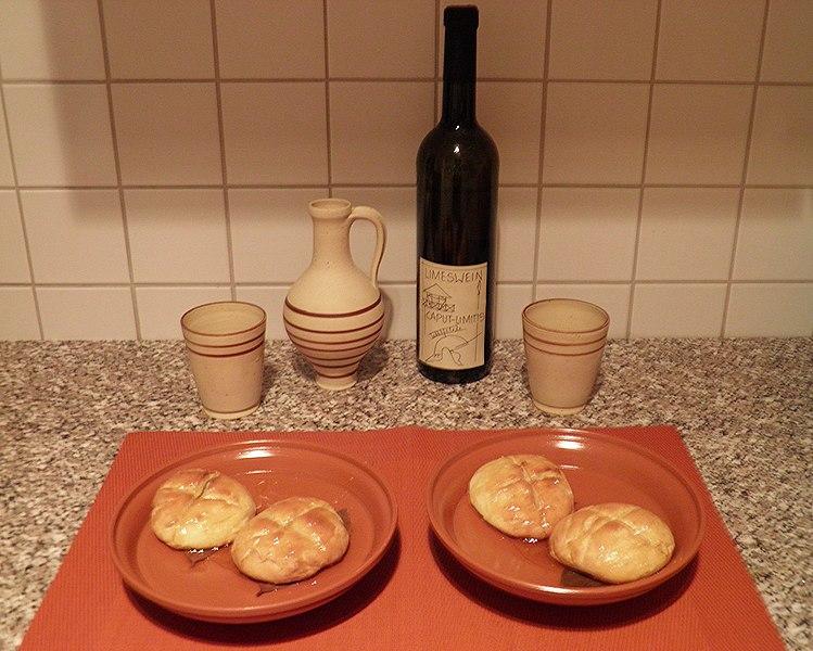 Vin och kakor