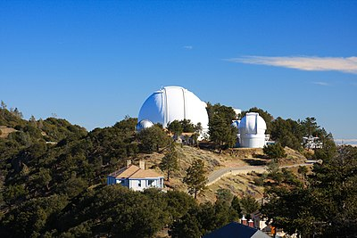 The University of California operates Lick Observatory, on Mount Hamilton, in East San Jose. Lick Observatory Shane Telescope.jpg