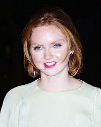 Lily Cole, 2012.
