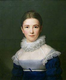 Porträt von Lina Gröger, der Pflegetochter des Künstlers, 1815 (Quelle: Wikimedia)