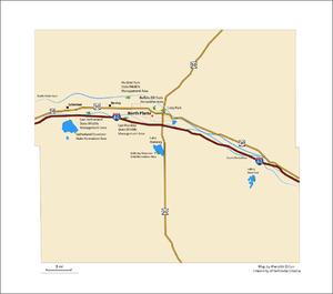 Lincoln County, Nebraska - Lincoln County, NE Map