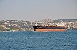 Linda Leah cargo on the Bosphorus in Istanbul, Turkey 001.jpg